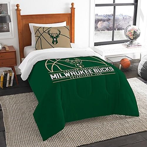 NBA Milwaukee Bucks Twin Comforter Set