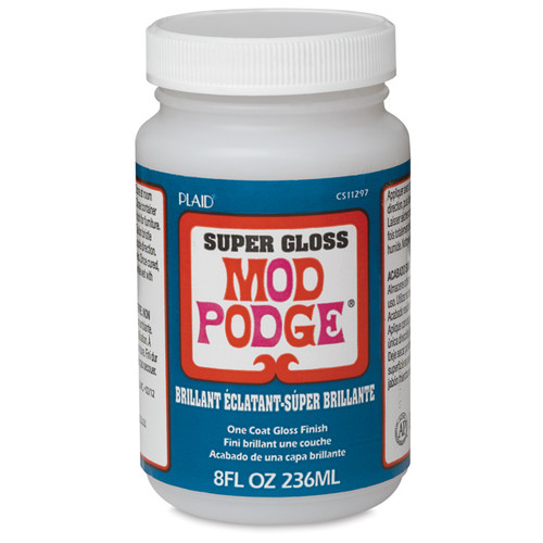 Plaid Mod Podge [Description : Super Gloss Finish]