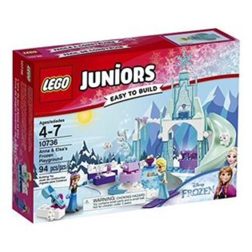LEGO Juniors Anna & Elsa's Frozen Playground 10736 Building Kit