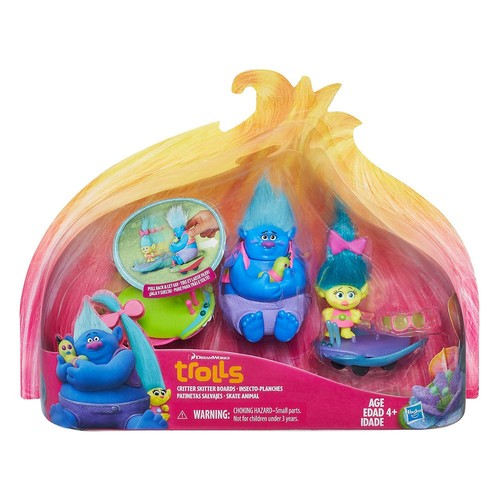 DreamWorks Trolls Critter Skitter Boards Playset