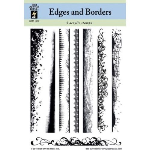 Edges and Borders Clear Stamp Set