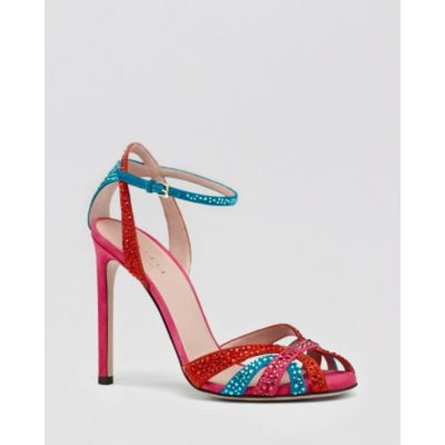 GUCCI Sandal - Hala Crystal High Heel