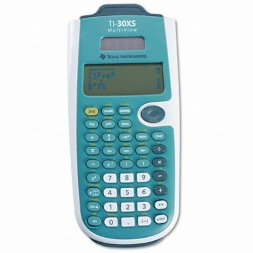 Texas Instruments TI-30XS MultiView Scientific Calculator [Blue and White]