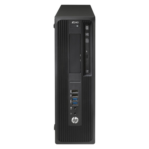 HP T4N71UTABADHISN Z240 SFF Workstation w/ Intel Xeon E3-1245 v5, 8GB RAM, & 256GB PCIe SSD