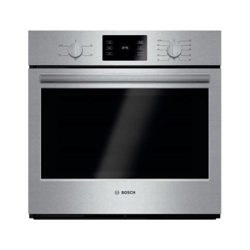 Bosch HBL5351UC 30 Inch Single Wall Oven with Heavy Duty Metal Knobs - Stainless Steel