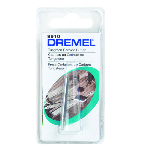 Dremel 1/8 in. Spear Tip Tungsten Carbide Cutter for Steel, Iron, Ceramics, Plastics, and Hard Wood