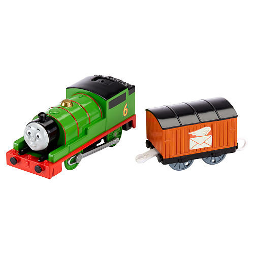 Fisher-Price Thomas The Train - TrackMaster Motorized Percy Engine
