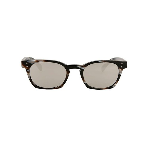 OLIVER PEOPLES Byredo Black Horn Mirrored Sunglasses
