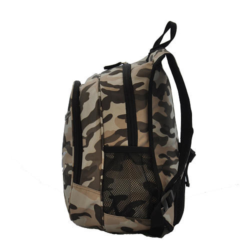 OBERSEE Kids All-In-One Backpack With Cooler - Camo Airplane