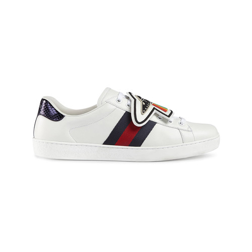 Ace sneakers with removable patches