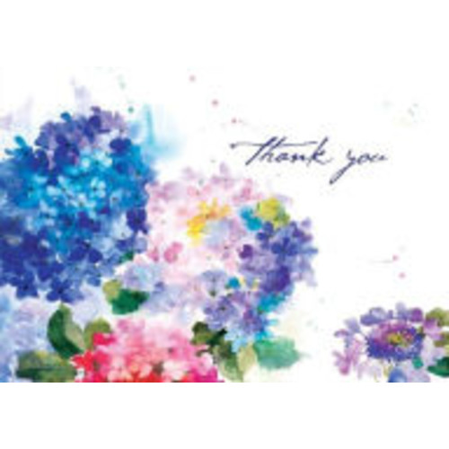 Hydrangeas Thank You Notes (Cards)