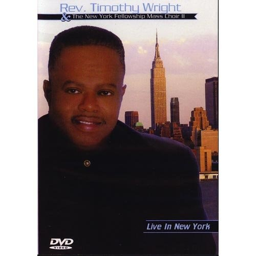 Wright T-Rev Timothy Wright-Live in New York