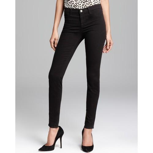 Jeans - French Sateen 485 Super Skinny in Black