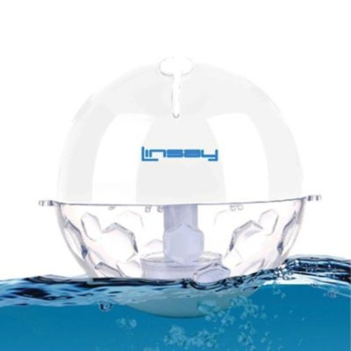 Linsay Pool Party Waterproof Bluetooth Speaker in White