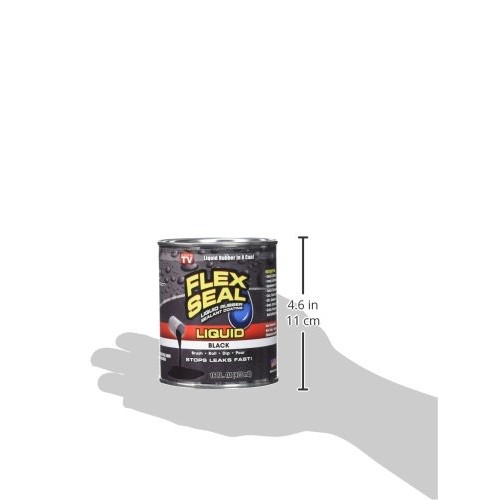 Flex Seal Liquid Large 16 Ounce (Black)
