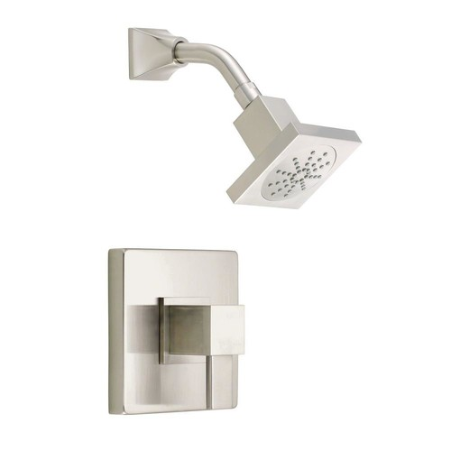 Danze Reef Single-Handle Pressure Balance Shower Faucet Trim Kit in Brushed Nickel (Valve Not Included)