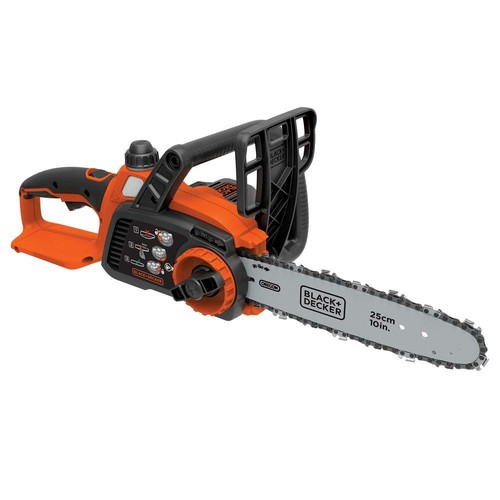 BLACK+DECKER 10 in. 20-Volt MAX Lithium-Ion Cordless Chainsaw - Battery and Charger Not Included