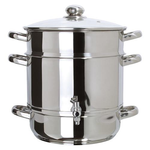 Euro Cuisine - Stainless-Steel Stovetop Steam Juicer - Stainless-Steel