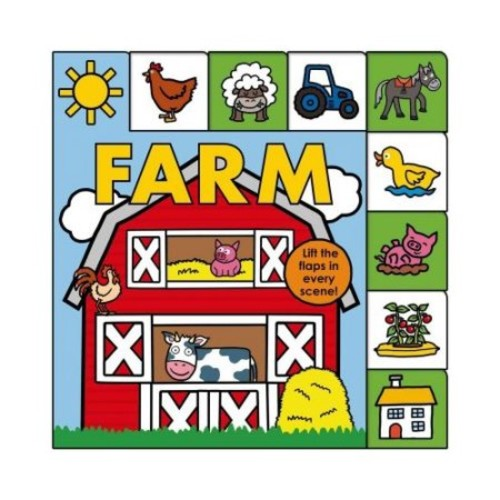 Lift-The-Flap Tab: Farm