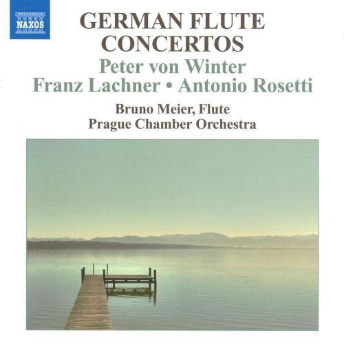 German Flute Concertos [CD]