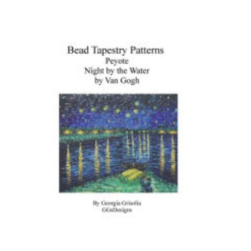 Bead Tapestry Patterns Peyote Night by the Water by Van Gogh
