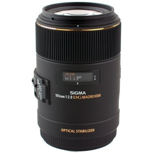 Sigma 105mm F2.8 EX DG OS HSM Macro Lens for Sigma SLR Camera [US Version, Sigma DSLR Camera]