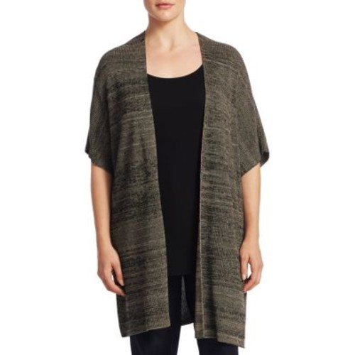 Eileen Fisher, Plus Size Plus Knit Kimono