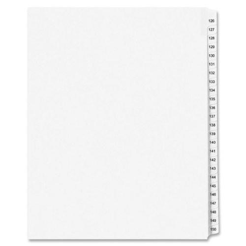 Kleer-Fax 80000 Series Side Tab Index Divider 83126 [1-Pack]