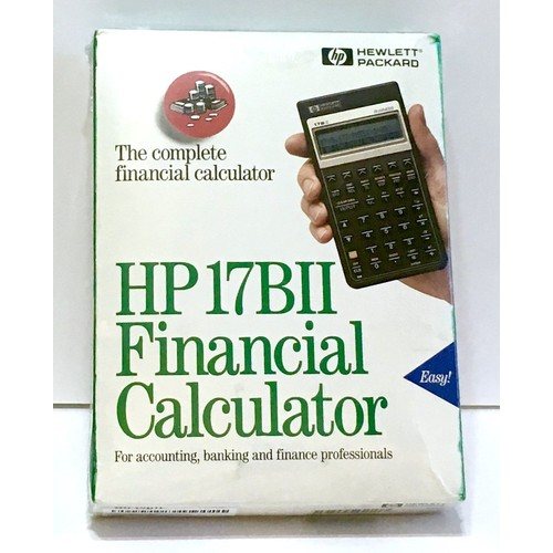 HP 17BII Financial Calculator