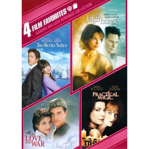 Sandra Bullock Romance Collection: 4 Film Favorites [2 Discs] [DVD]