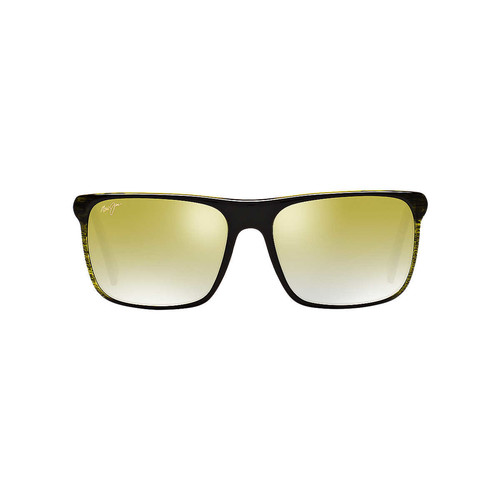 Maui Jim 705 FLAT ISLAND 58 Green & Green Polarized Sunglasses