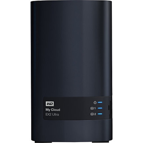 WDBVBZ0000NCH-NESN WD Diskless My Cloud EX2 Ultra Network Attached Storage - NAS - WDBVBZ0000NCH-NESN