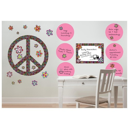 WallPops Peace Kit and Dry-Erase Pack