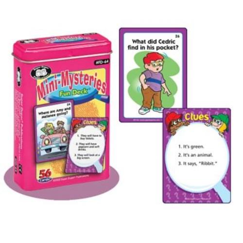 Super Duper Mini-Mysteries Fun Deck Cards
