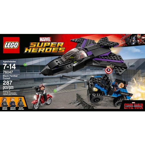 LEGO - Marvel Super Heroes: Black Panther Pursuit