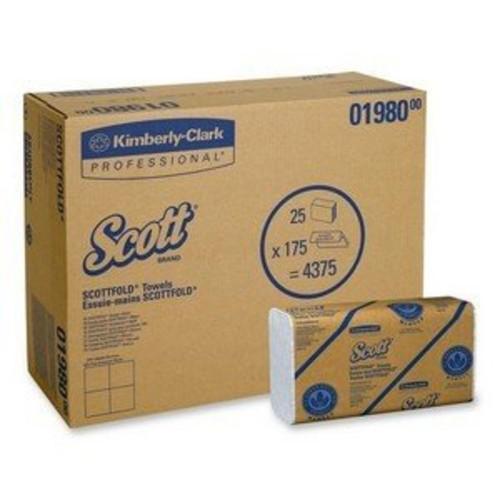 Kimberly Clark 01980 SCOTT Scottfold M-Fold Paper Towels (KCC01980) Category: Napkins