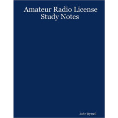 Amateur Radio License : Study Notes