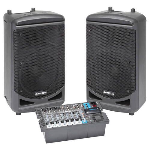 Samson - Expedition Wireless Portable PA System - Black