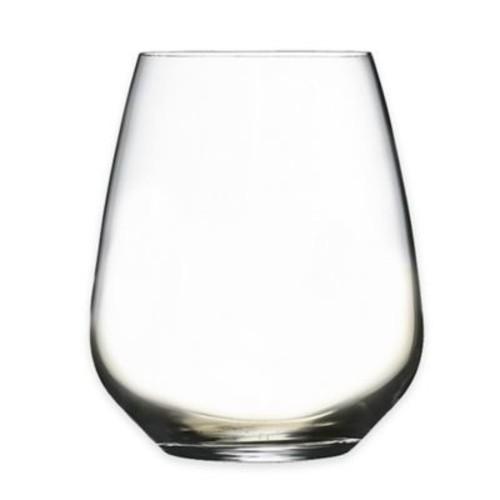 Luigi Bormioli Crescendo SON.hyx Stemless Wine Glasses (Set of 12)