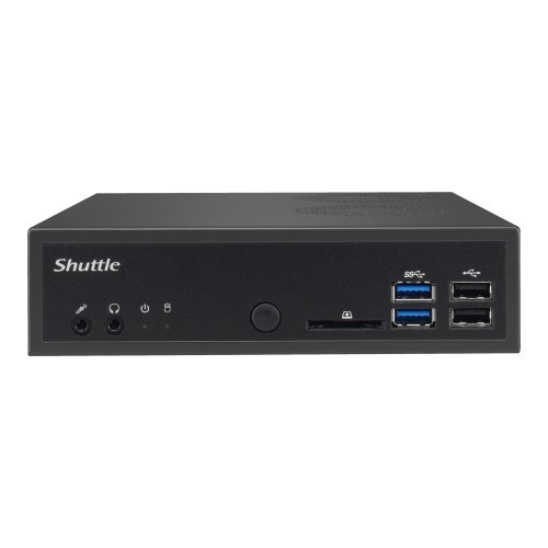 Shuttle XPC slim DH110 - Barebone - Slim-PC - LGA1151 Socket - Intel H110 Express - GigE (DH110)