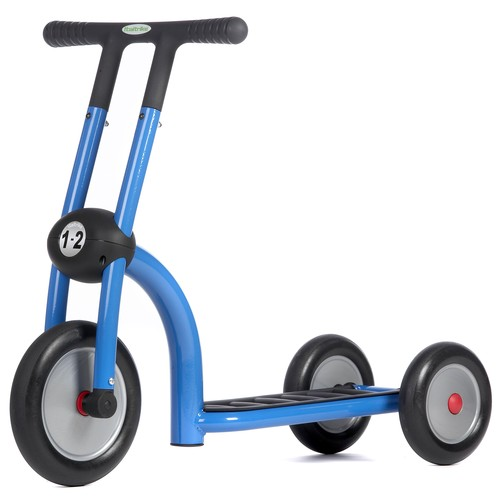 Three-Wheeled Blue Scooter For Small Children
