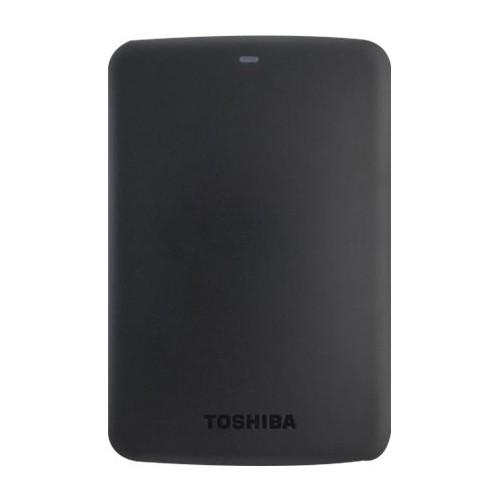 Toshiba - Canvio 3TB External USB 3.0 Portable Hard Drive - Black