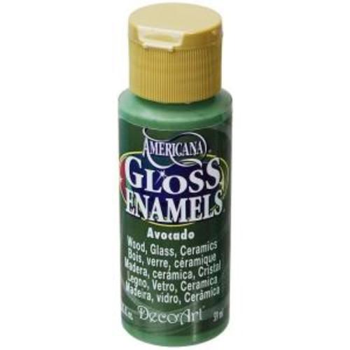 Americana 2 oz. Avocado Gloss Enamel Paint