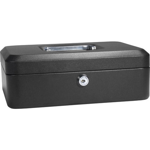 Barska Medium Cash Box with Key Lock
