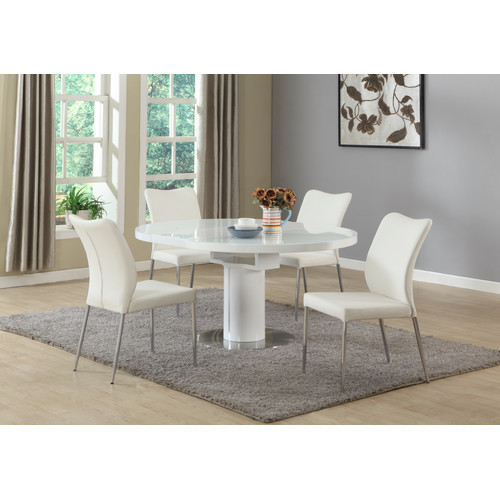 Zahir 5 Piece Dining Set by Wade Logan