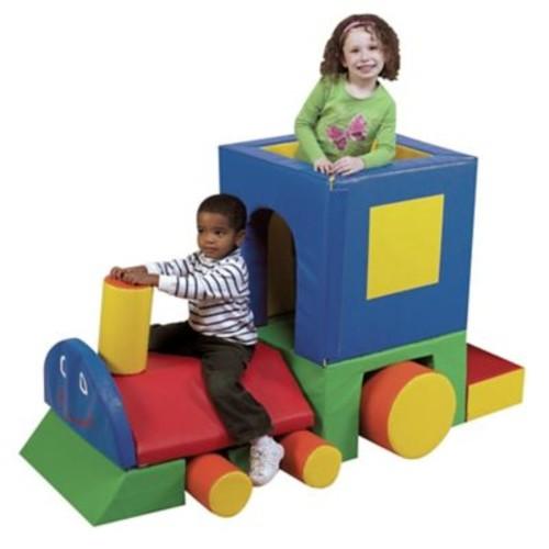 Children's Factory Primary Little Chug Engine Play Center