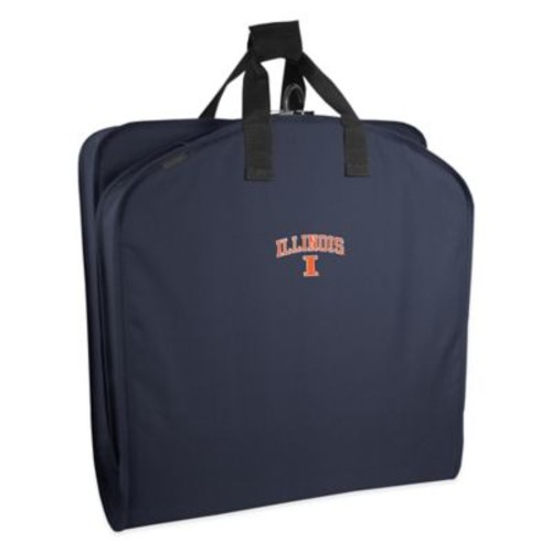 WallyBags University of Illinois 40-Inch Garment Bag with Handles
