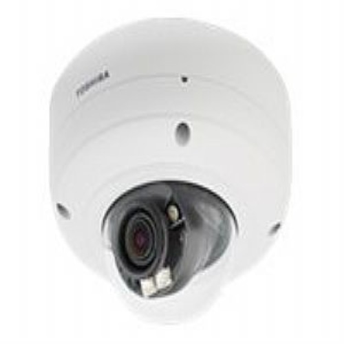 Toshiba IK-WR14A HD IP Vandal Dome Camera - Network surveillance camera - dome - outdoor - vandal-proof - B&W ( Day&Night ) - 2 MP - 1920 x 1080 - vari-focal - audio - 10/100 - MPEG-4, MJPEG, H.264 -