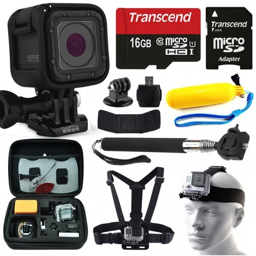 GoPro HERO5 Session + Essential Accessory Bundle Kit, BRAND NEW CAMERA