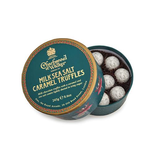 Paper Theatre Collection - Milk Sea Salt Caramel Truffles